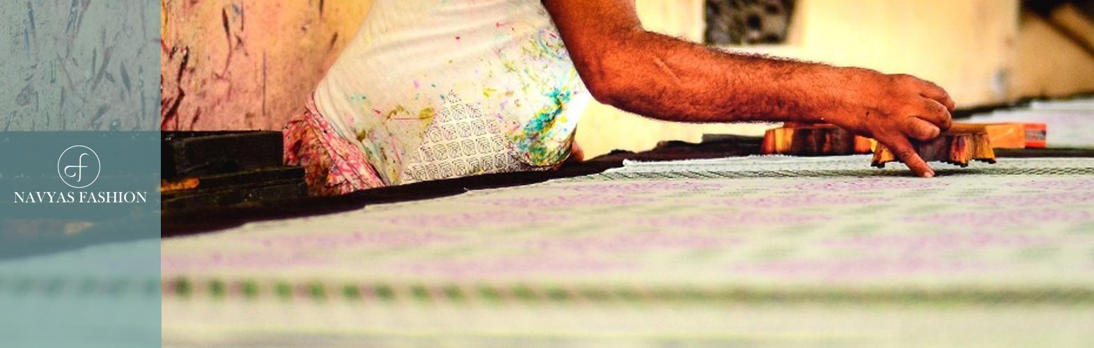 Bagru Fabric