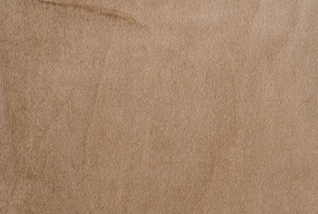 Camel Brown Cotton Velveteen Fabric
