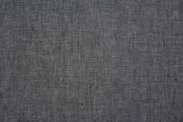Greyish Black Linen Trouser Fabric