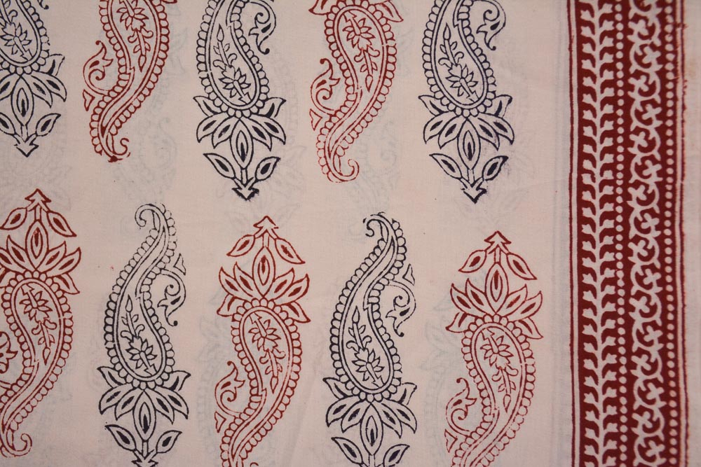 Paisley Bagh Printed Cotton Fabric