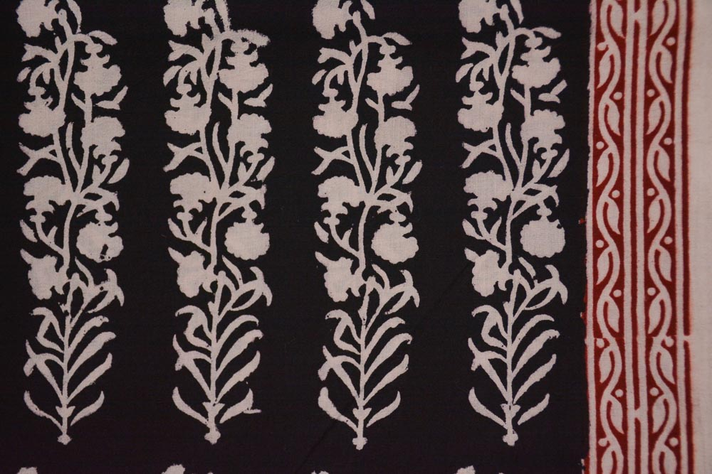 Floral Bagh Print Cotton Fabric
