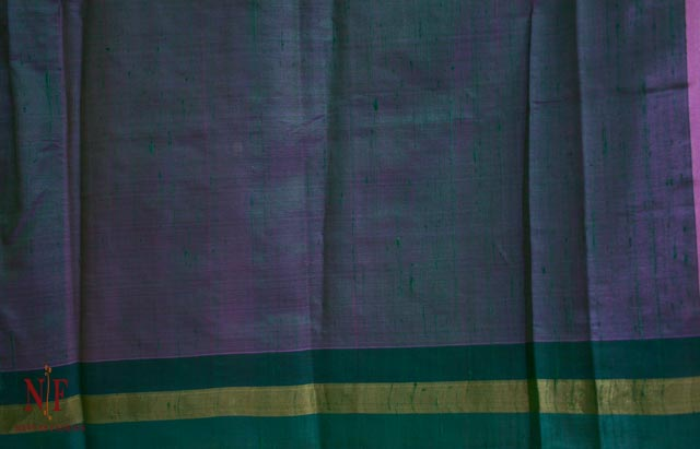 Chateau Rose Handloom Women's Pure Dupion Silk Sarees