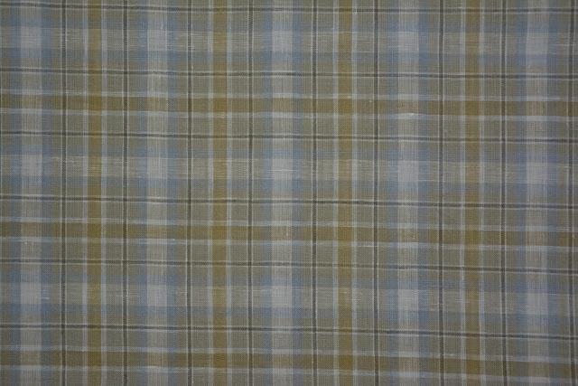 Multi Color Pure Linen Shirt Fabric