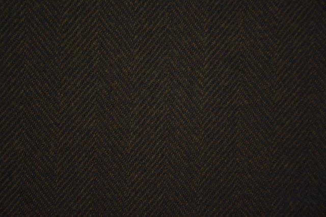 Chocolate Plum Brown Tweed Wool Fabric