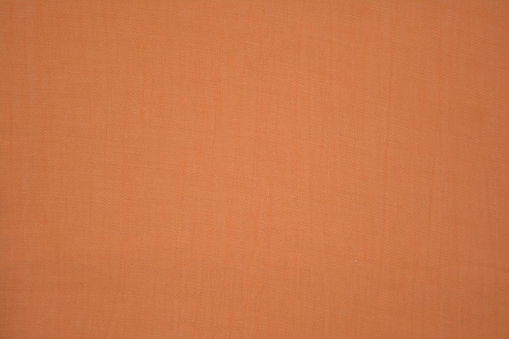 Apricot Peach Self Design Natural Organic Aloevera Fabric