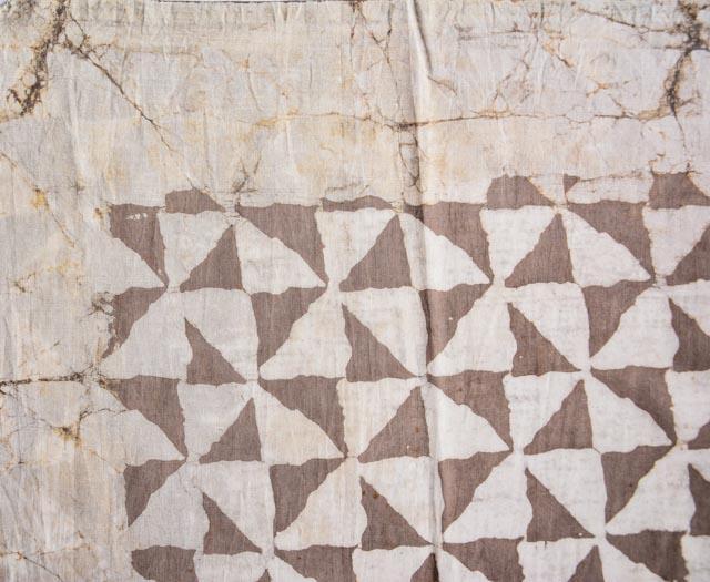 Kashish Grey Triangle  Block Printed Pareo Sarong