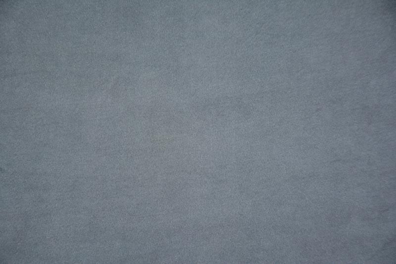 Steel Grey Habotai Silk Fabric By The Yard