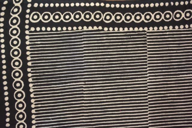 Maroon And White Printed Pareo Sarong