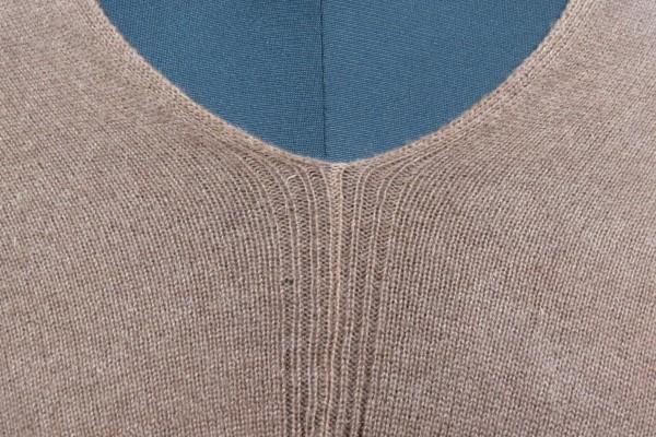 Ethnic Brown Kashmir Wool Poncho